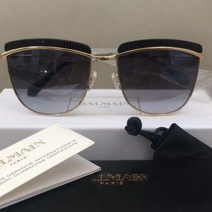 Balmain 56mm Clubmaster Sunglasses